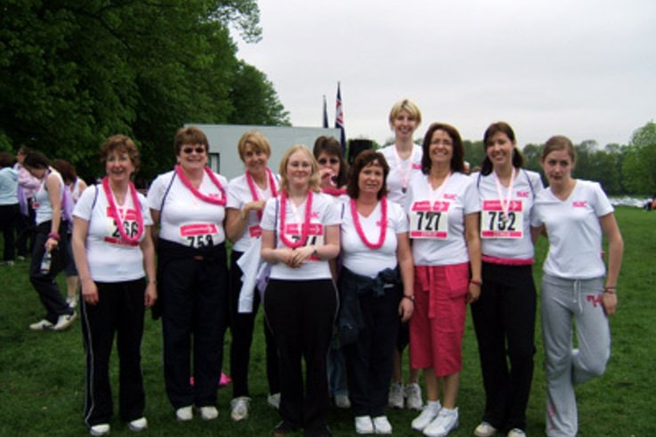 BLEC Ladies Race for Life