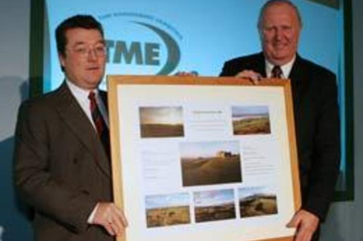 Sir Michael Bonallack OBE recognised for his Achievements