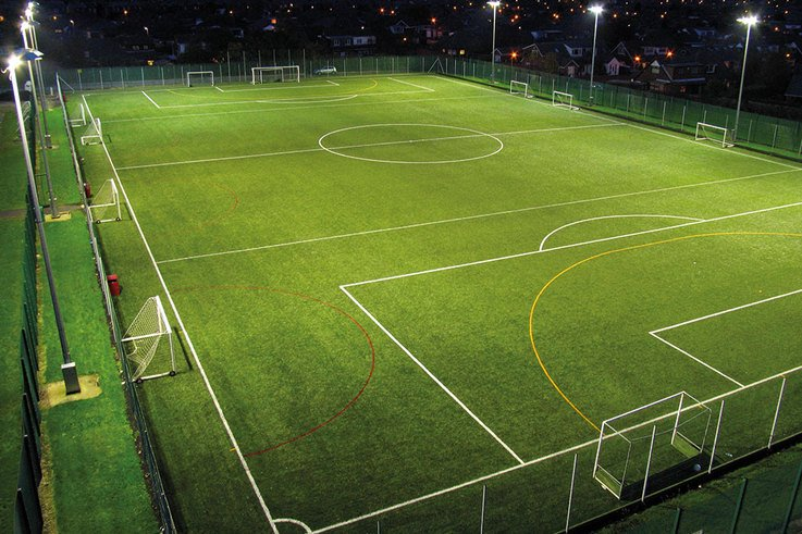 Chaterhouse synthetic pitches Floodlights 1