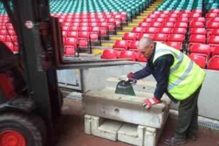 Maximum use from Millennium Stadium