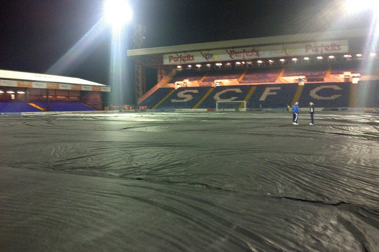 Edgeley Park pre Mansfield Home January 6pm