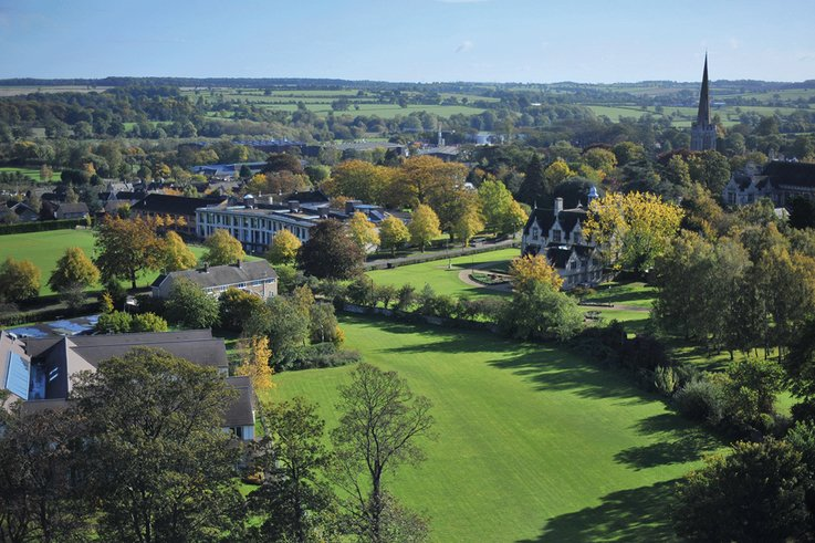 Oundle School  Aerial