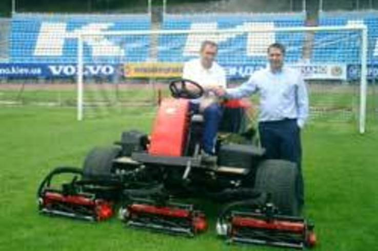 Further success in Ukraine for Ransomes Jacobsen