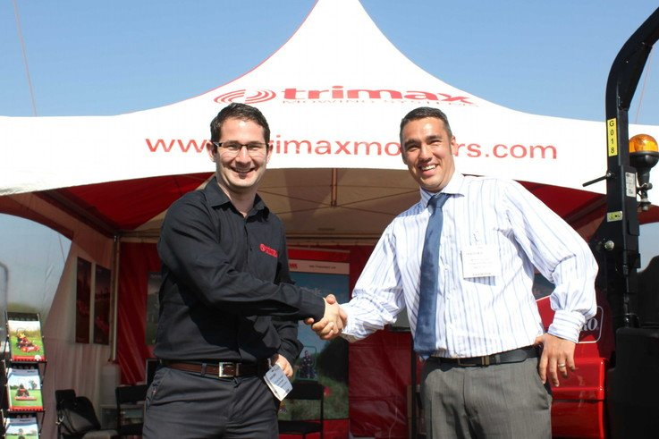 Michael Sievwright and Phil Hughes at SALTEX web res