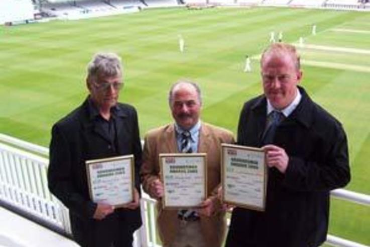 Cricket Groundsman of the Year Award