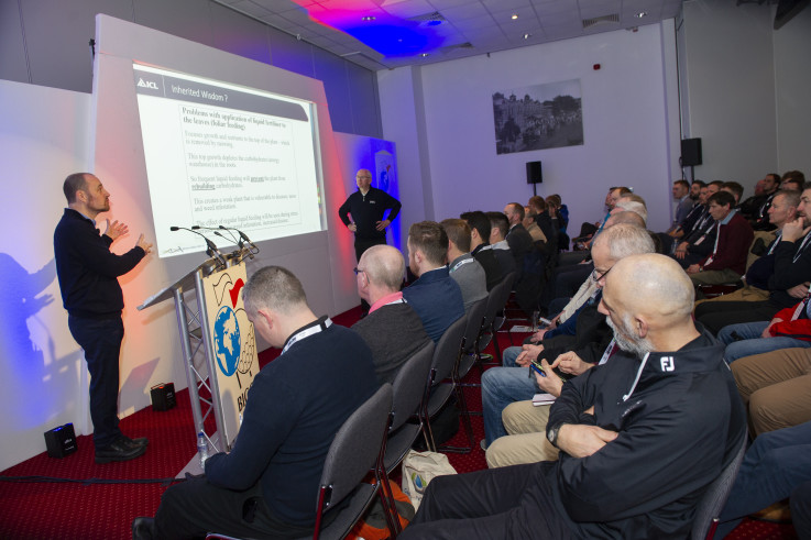 ICL's Dr Andy Owen and Henry Bechelet presenting at Continue to Learn.jpg