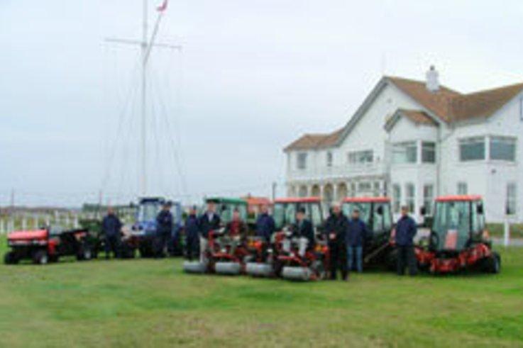 £350,000 machinery investment at Royal Cinque Ports Golf Club