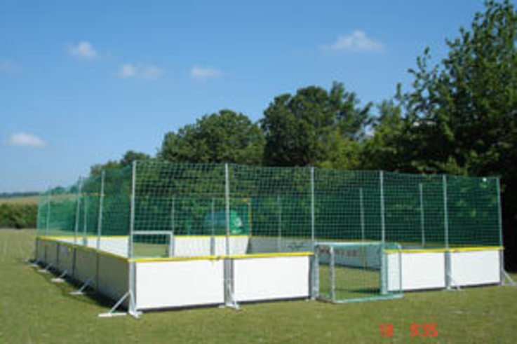 Portable sports arenas chosen by Chelsea FC
