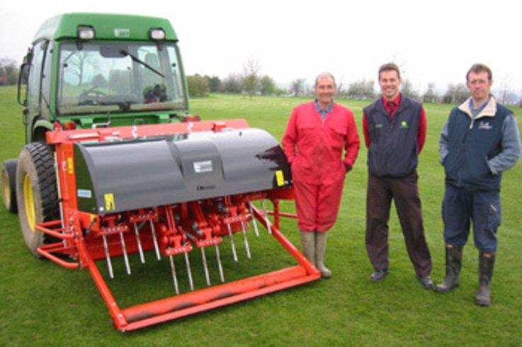 Terra Spike helps Turf Maintenance regime at Ashbourne GC