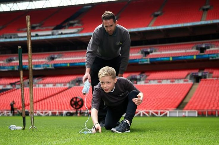 The FA Little Groundsman