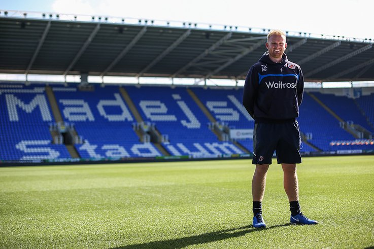 Adam Grantham Grounds Manager at the Madejski Stadium  2
