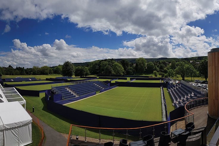 Lording it over Ilkley Lawn Tennis and Squash Club