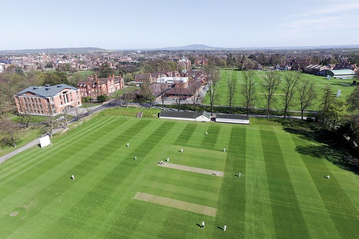 Shrewsbury School cricket squares