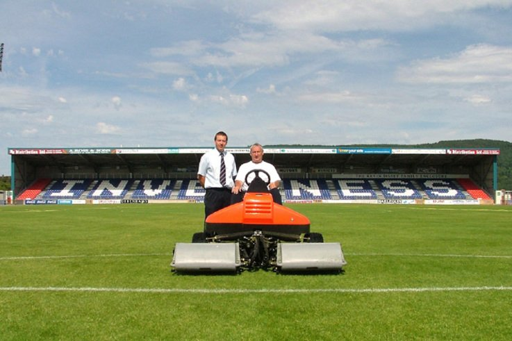 Ransomes Jacobsen provide Maintenance Kit for Inverness Caledonian Thistle FC