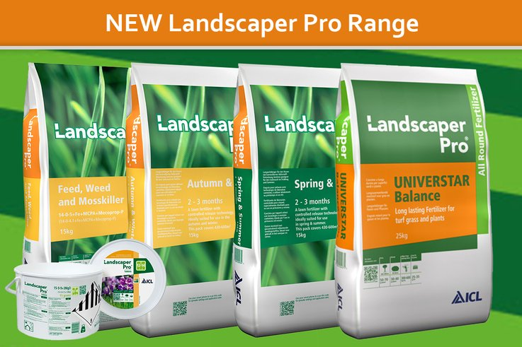 New Landscaper Pro Range