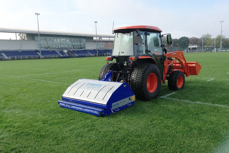 ShockWave at work on the rugby pitch at Old Anniesland Glasgow