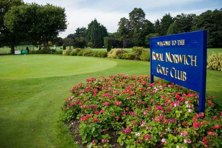 Royal Norwich Golf Club data tag