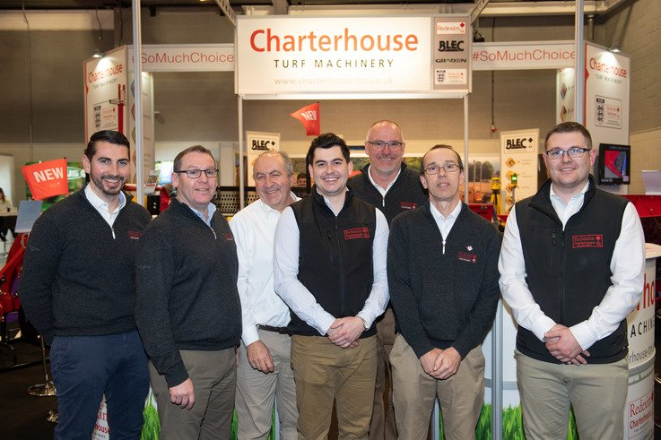 The Charterhouse Team Pictured At BTME 2019