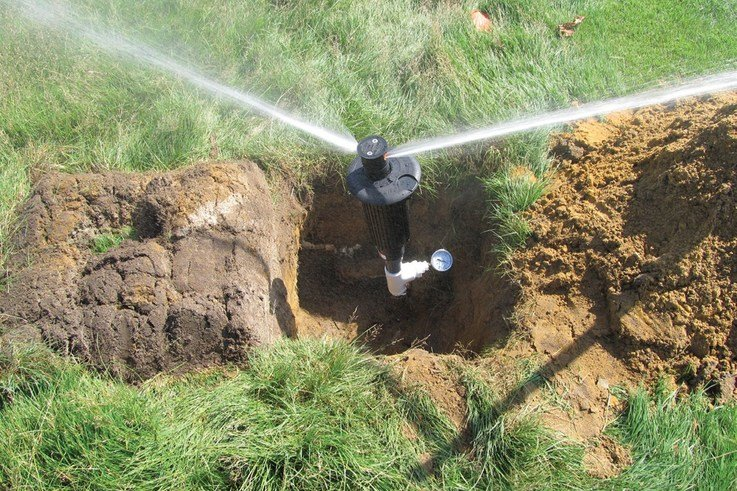 Upgrading irrigation