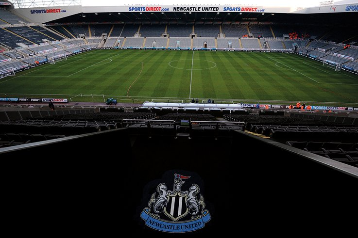 NUFC inside stadium