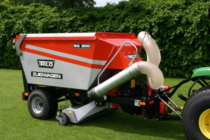 Another Clean Sweep by the Trilo SG300!