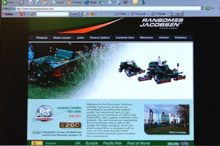Ransomes Jacobsen Launch New Website