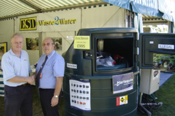Waste2Water Launch Range of Diesel Fuel Stations.