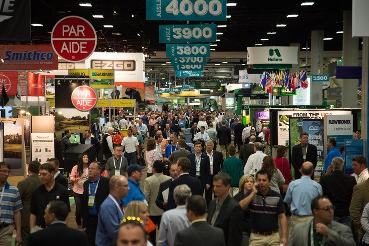Golf Industry Show image courtesy of GCSAA