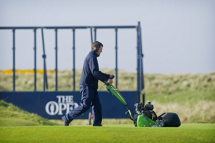 Royal Troon 2016 Open 220SL mower A