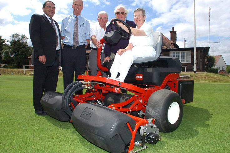 Top Croquet Club cuts mowing time with TORO