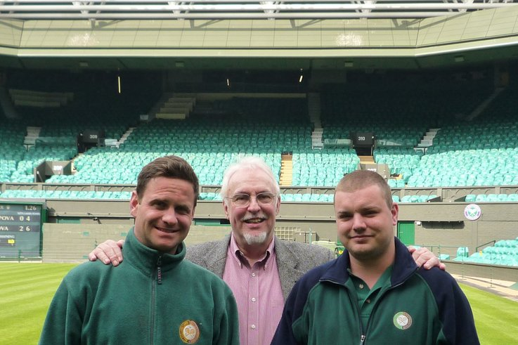 Frank Grant and Will AELTC for Pitchcare