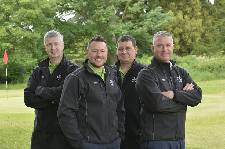 Turf Solutions team