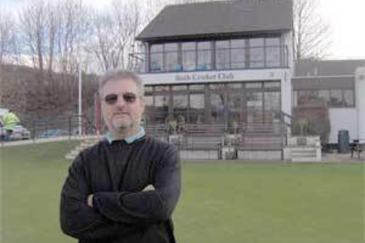 Pre season rolling at Bath Cricket Club