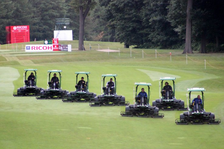 Woburn Golf Club mower fleet
