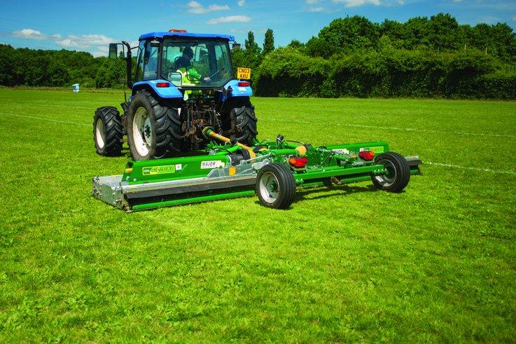 MJ71-540T Trailed Swift Roller Mower CS