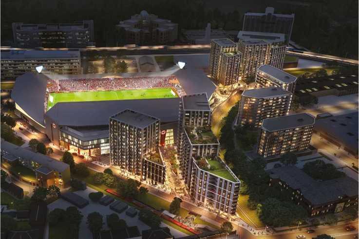 Brentford FC - New Stadium