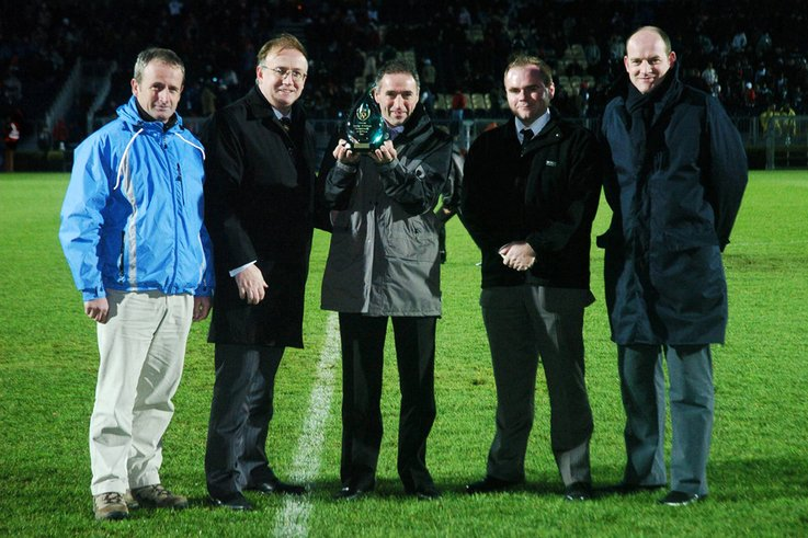 Terryland Park scoops Top Groundsman Award