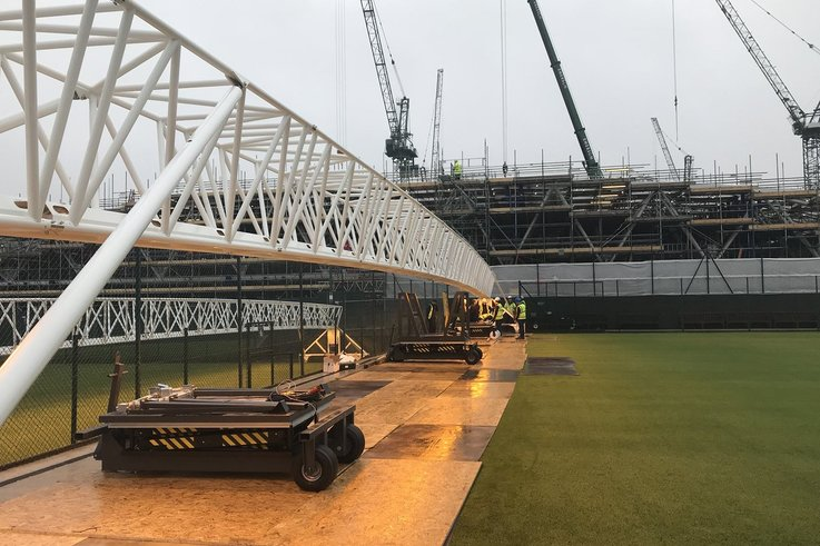 Wimbledon AELTC lighting rigs