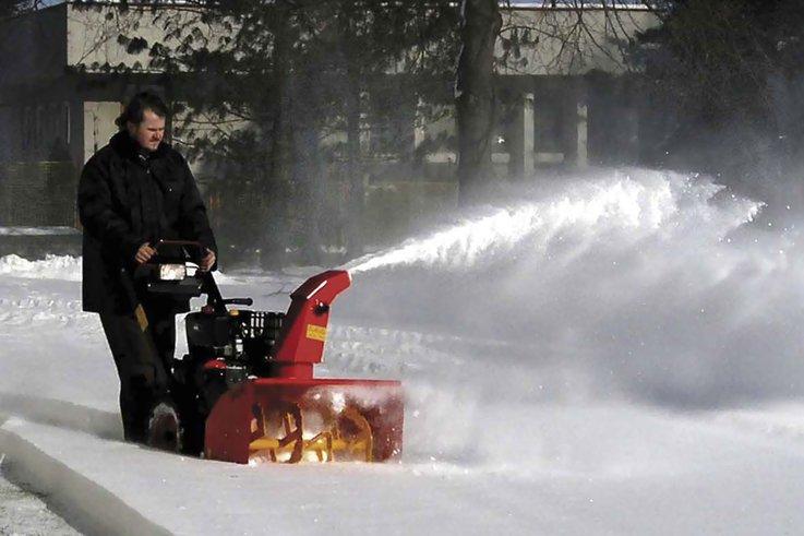 Hot Shot in snow