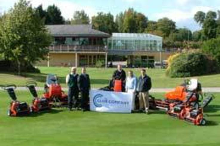 The Club Company renew agreement with Ransomes Jacobsen