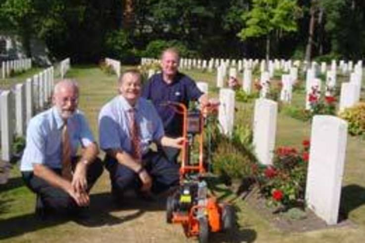 Edgers supplied to War Graves Commission