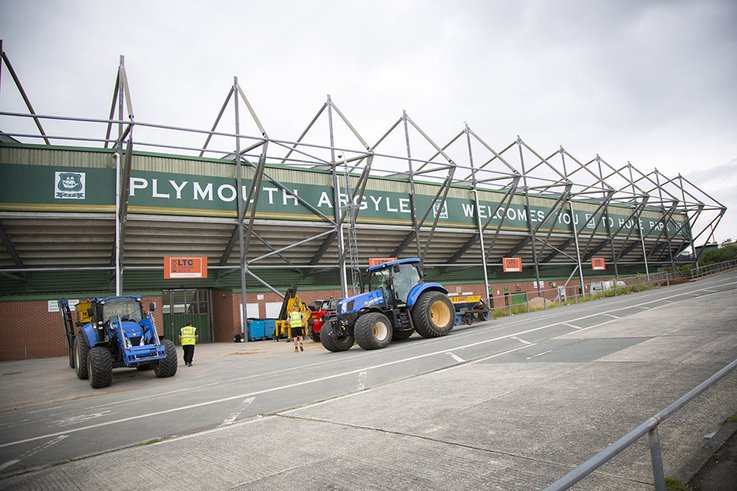 Topsport    Plymought Argyle 1