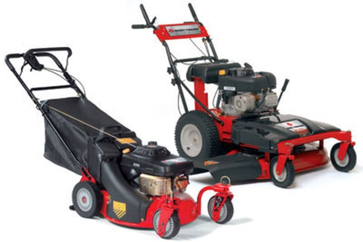 Walk-Behind rotary mower range expands to six models for 2008