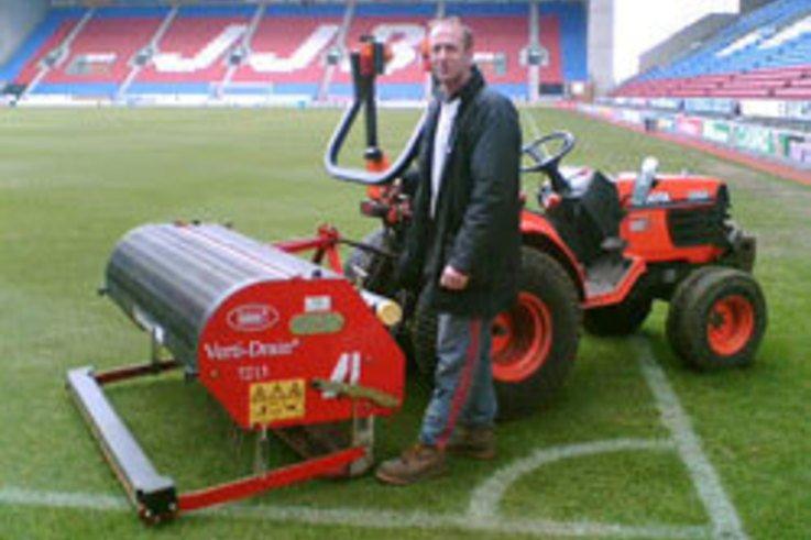 Verti-Drain contributes to Wigan's Winning Ways