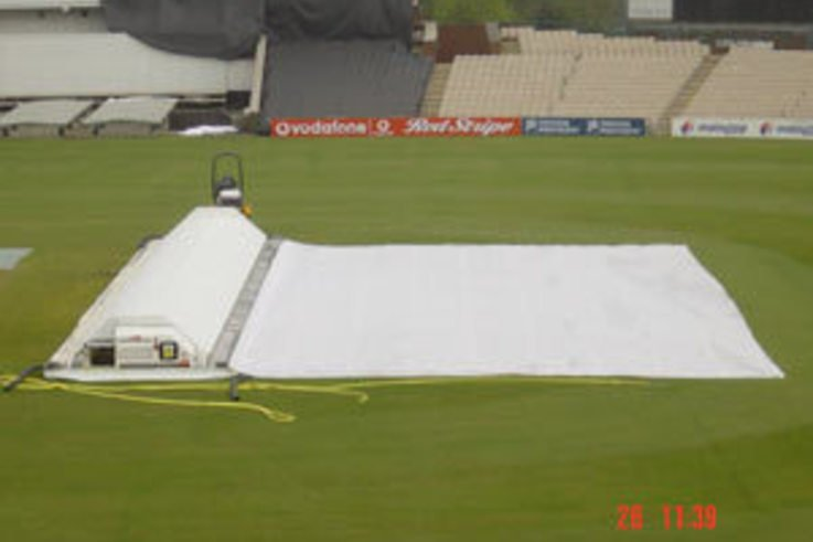College Pitch Cover is a real 'Match Saver'