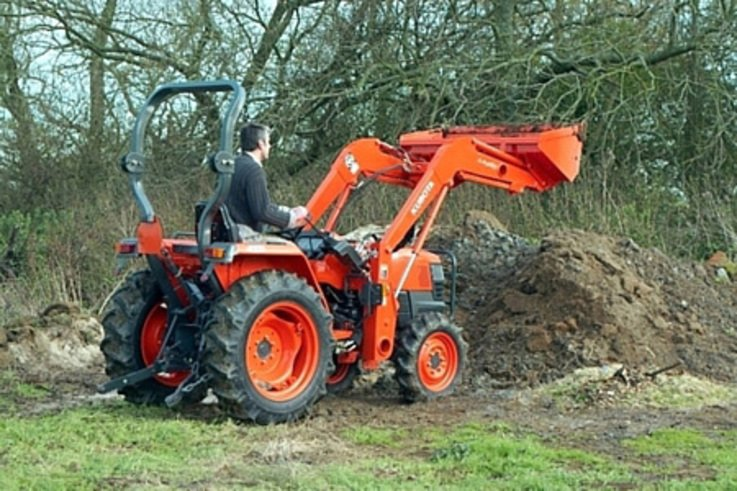 Standard Specification Compact Tractor Launched by Kubota.