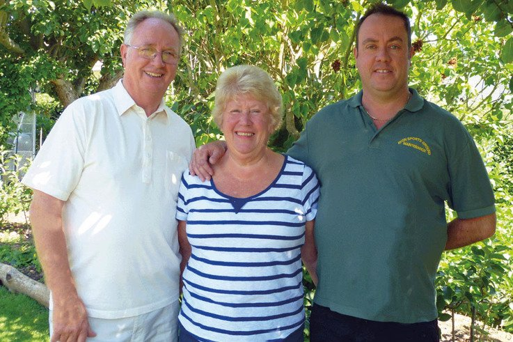 Terry, Yvonne and Matthew Phillips