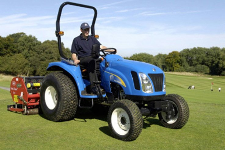 The Tractor Choice for Greenkeepers