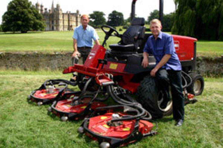 Toro Groundsmaster suits Burghley down to the ground