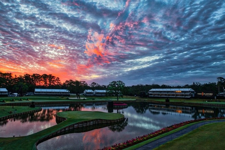 Sunrise Over TPC Sawgrass